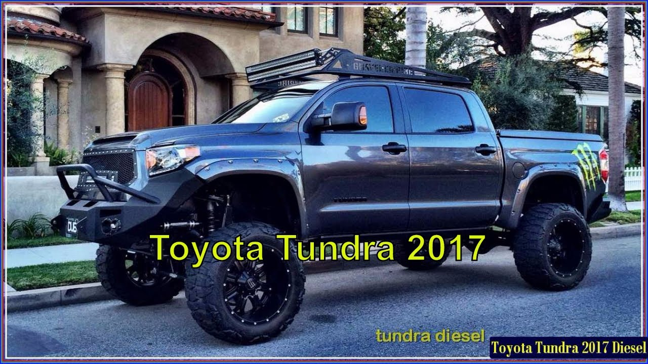 toyota tundra 2017 diesel trd sport pickup interior and exterior youtube. Black Bedroom Furniture Sets. Home Design Ideas
