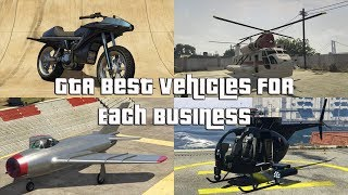 GTA Online Best Vehicles For Each Business
