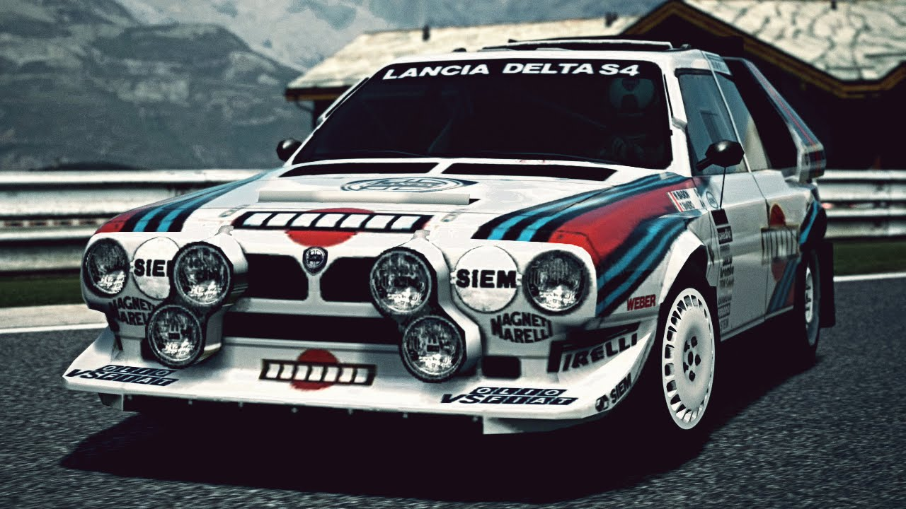 gt6 lancia delta s4 rally car 39 85 exhaust video youtube. Black Bedroom Furniture Sets. Home Design Ideas