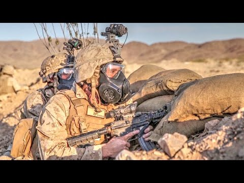 US Marines Train For Battle At 29 Palms