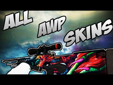 cs go awp all skins showcase price все скины awp цены