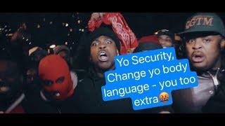 Footage : Casanova 2x CHECKS (corrects) Soulja Boy & his SECURITY 👀 😂 - my reaction and more info