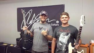 Denton plays Chapman, Diamond, and CMG Guitars at RNA Music