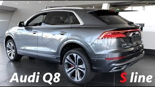 Audi Q8 S line 2019 in depth full review in 4K (interiro/exterior)