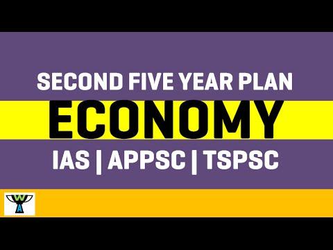 Second Five Year Plan India - Economy - IAS   APPSC   TSPSC  GROUPS