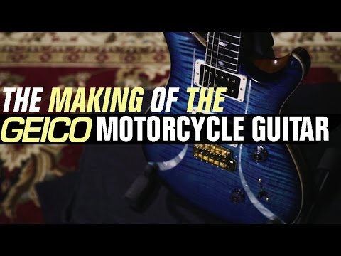 The Making of the GEICO Motorcycle Guitar by PRS Guitars