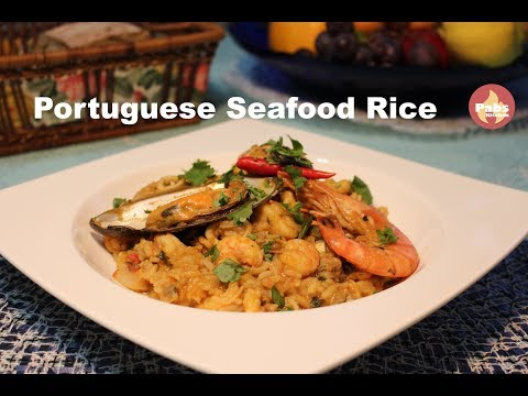 Best Seafood Rice (Secret Recipe) / Portuguese Food – Pabs Kitchen
