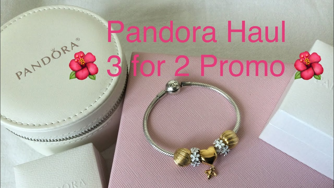 PANDORA Haul ❤️ 3 for 2 March 2021