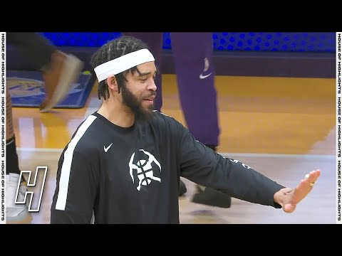 JaVale McGee Receives His Championship Ring From Los Angeles Lakers 💍