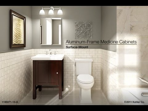 Installation  SurfaceMount AluminumFrame Medicine
