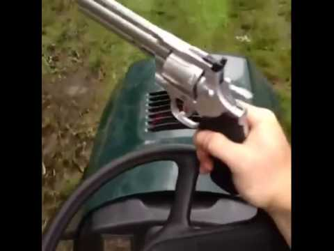 I Have The Power Of GOD Lawnmower Pistol - YouTube