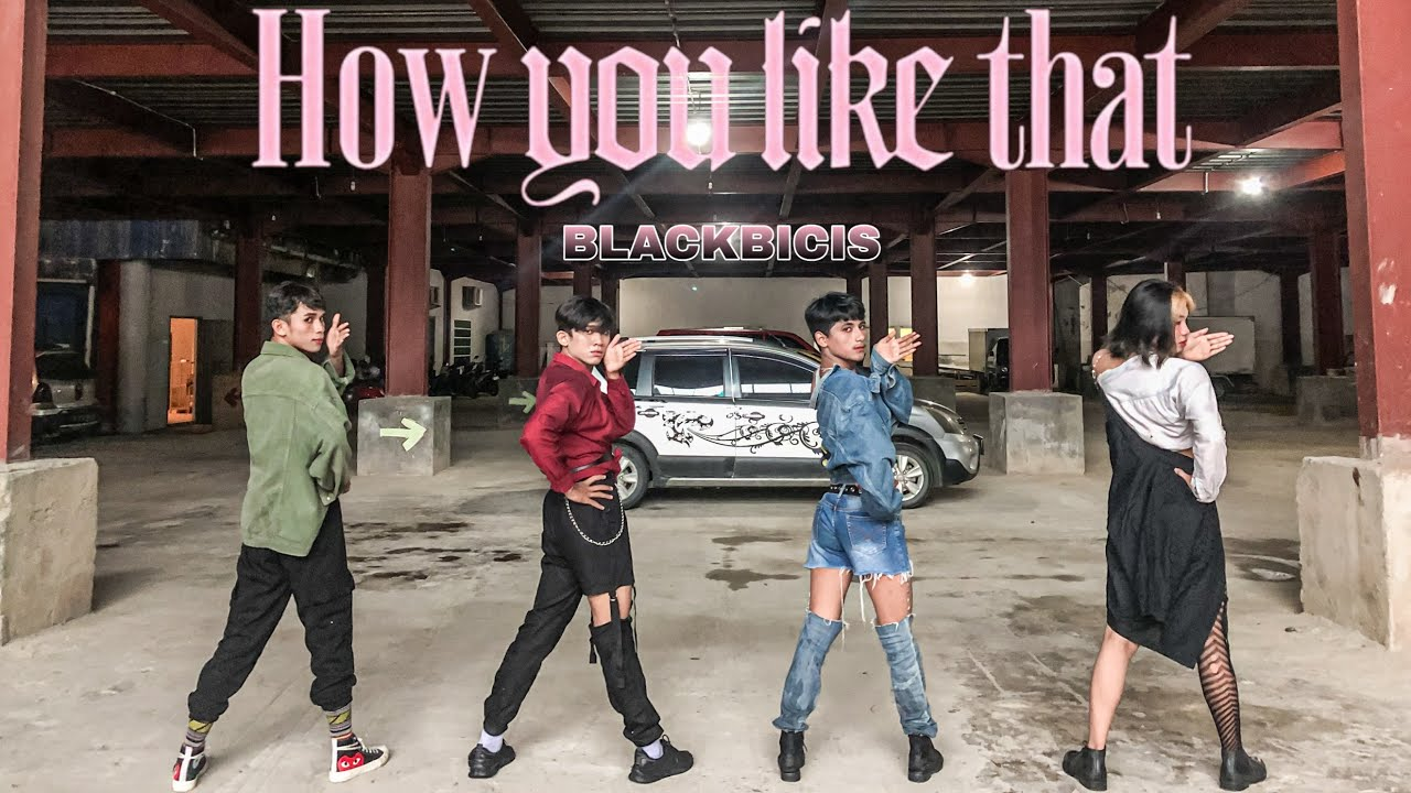 """[DANCE COVER] BLACKPINK """"How You Like That"""" by BLACKBICIS"""