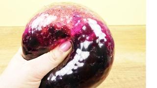 Wasserperlen ANTISTRESSBALL | Orbeez pink & lila in einem Ballon | Cooles Experiment DIY