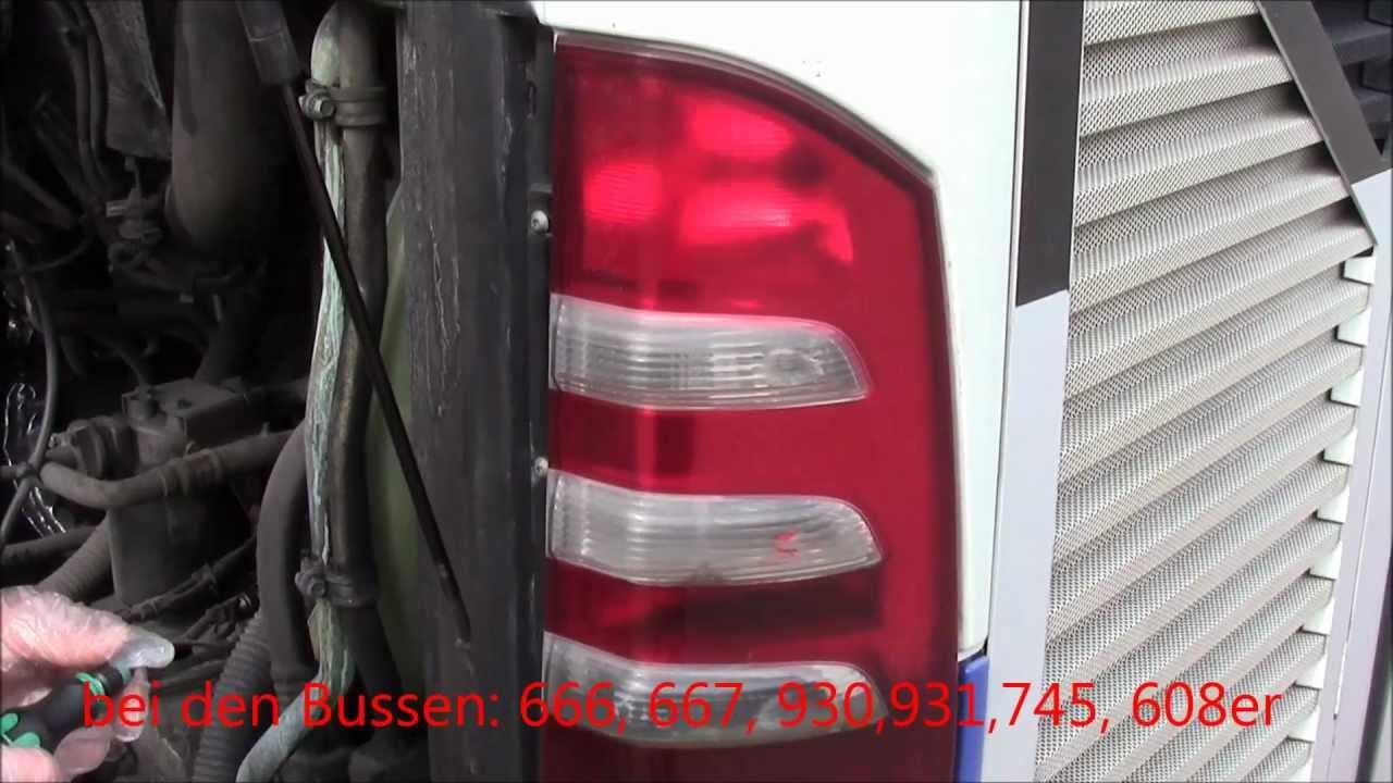 Technik 2 Lampenwechsel R 252 Cklicht Youtube