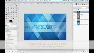 gimp | frosted glass tutorial