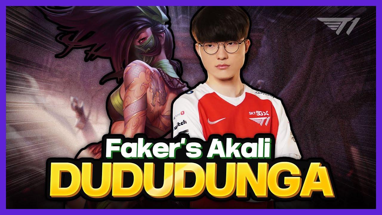 You just gotta watch Faker's Akali [Faker Stream Highlight]