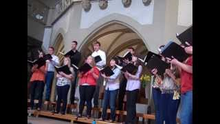 Awesome Choir is Awesome in Mosbach Germany