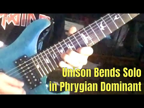 Phrygian Dominant Unison Bend Soloing: ShredMentor Challenge of the Day #88