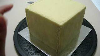 My Marzipan (almond Paste) Covered Cake
