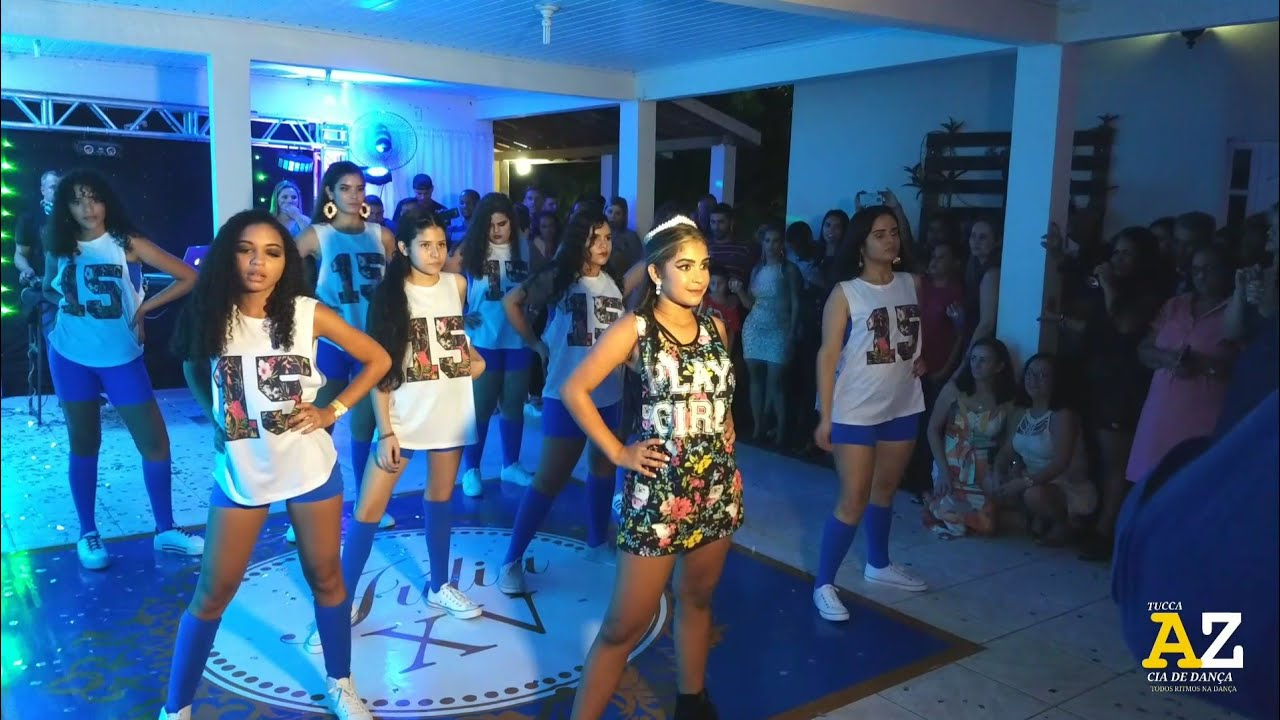 Dança De 15 Anos Júlia Valadares Melhor Abertura De Pista Vários Sucessos 1080p Youtube