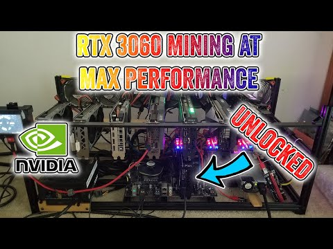 Unlocked RTX 3060 Crypto Mining Performance - Live Testing