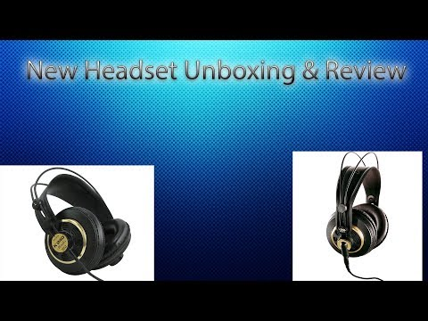 New Akg K240 Studio Headphone Unboxing & Review