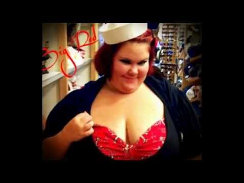 Big Red BBW Model for Luscious Loves