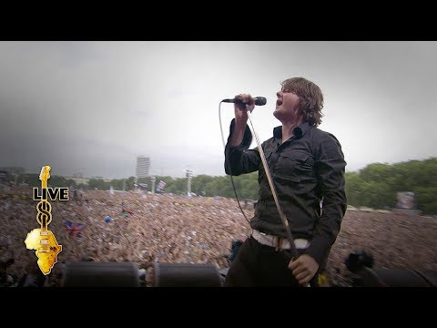 Keane - Somewhere Only We Know (Live 8 2005)