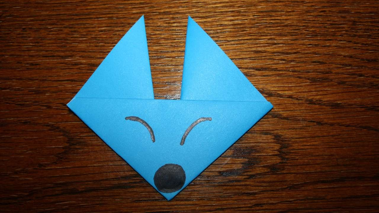 How to make an easy origami fox face diy crafts tutorial how to make an easy origami fox face diy crafts tutorial guidecentral youtube jeuxipadfo Image collections
