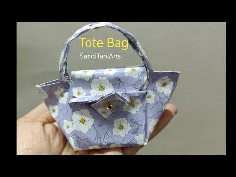 How to make paper handbag |    Tote Bag | Gift Bag | Paper bag #origami