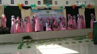 Shalawat Terbaru Kreasi Santri Juara 1 Putri (DRM Hari Besar Islam 1440 H) Ponpes Syamsululum