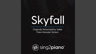 Gambar cover Skyfall (Originally Performed By Adele) (Piano Karaoke Version)