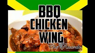 Oven BBQ Chicken Wings Recipe By | Chef Ricardo Cooking