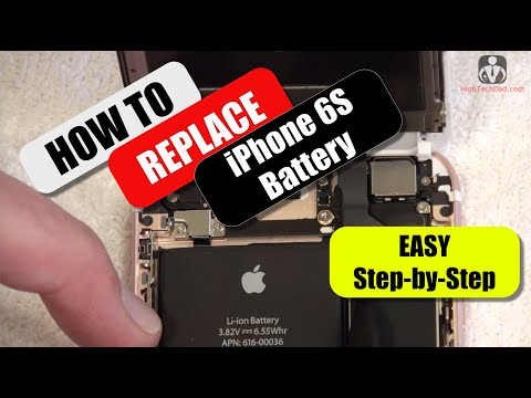 How To Replace iPhone 6S Battery (Detailed Instructions)
