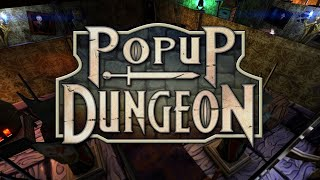 Popup Dungeon - Sleekly Designed Tactical Role Playing Strategy
