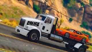 Полицейские Будни Дрифт Патруля в ГТА 5 - Восстановили Nissan и тюнинг Супры | #5
