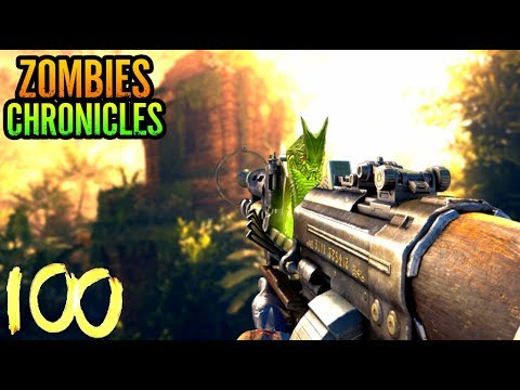 SHANGRI LA ROUND HIGH ROUND RUN! - BLACK OPS 3 ZOMBIES CHRONICLES