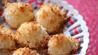 Coconut Macaroons (banh Dua Nuong) Recipe Cookies
