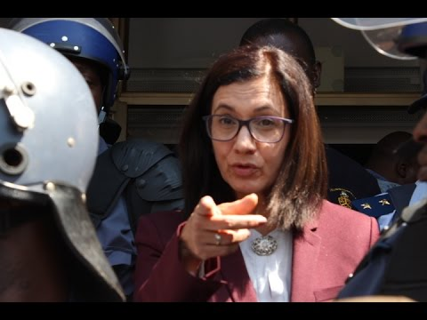 UP Vice Chancellor told not to act like she is Jesus by students! #FeesMustFall