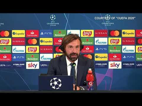 """Juve-Barca 0-2, Pirlo: """"Tanto da migliorare. Anno di transizione? No, dobbiamo fare risultati"""""""