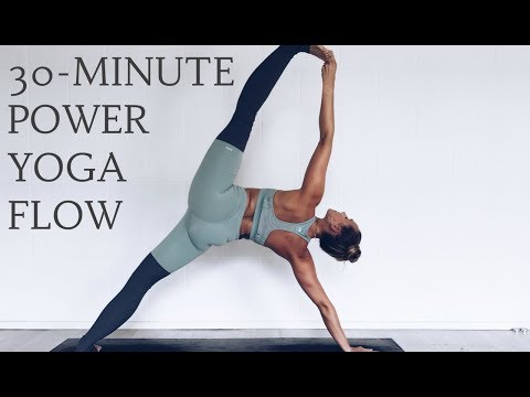POWER YOGA FLOW | 30-Minute Intermediate | CAT MEFFAN
