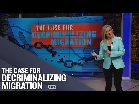 Decriminalizing migration is not open borders ft. Julián Castro #Twinning | Full Frontal on TBS