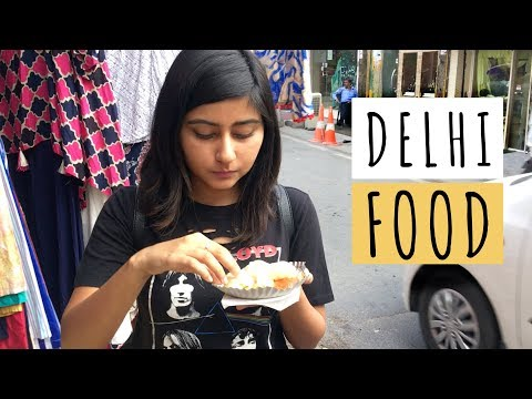 Eating My Favourite Food in Delhi