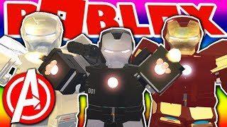 ROBLOX WAR MACHINE BATTLE (IRON MAN!) - Roblox Iron Man Scripting (RolePlay)