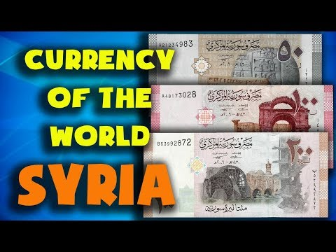 Currency Of The World - Syria. Syrian Pound. Exchange Rates Syria.Syrian Banknotes And Syrian Coins