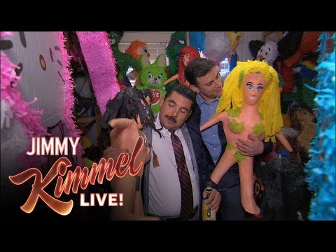 "Thumbnail: Jimmy and Guillermo Play ""Piñatas and Tequila"""