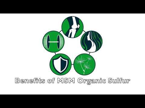 MSM Benefits | Organic Sulfur Benefits | Health Benefits of MSM