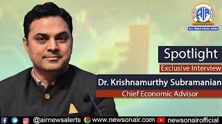 Interview with Dr. Krishnamurthy Subramanian, Chief Economic Advisor on Economic Survey 2020-21