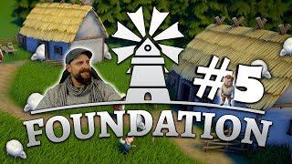 Foundation deutsch 🛠️ 005: Des Schäfers Rolle? Macht Schaf zur Wolle! | Foundation german gameplay