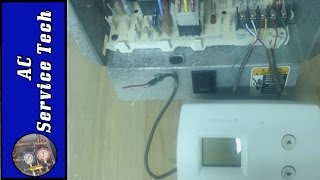 Thermostat, Furnace, AC not Working- Troubleshooting Bad Tstat Wiring and Blown 24v Fuse